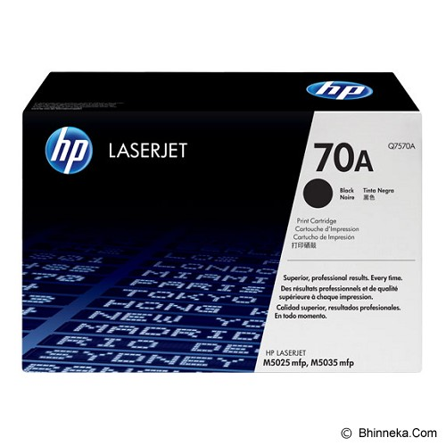 HP Black Toner 70A [Q7570A] - Toner Printer Hp